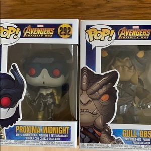 New 292 Proxima Midnight and 298 Cull Obsidian